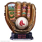 Boston Red Sox Glove Sculpture