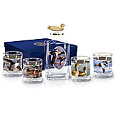 Hautman Brothers' American Ducks Decanter Set