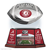 University Of Alabama Levitating Football Sculpture