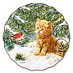 Smitten Kitten Collector Plate