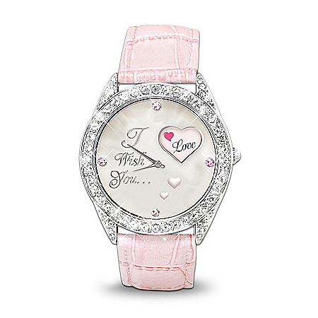 Crystal Rotating Watch: My Daughter, I Wish You