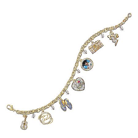 Collectible Elvis Presley Showstopper Charm Bracelet