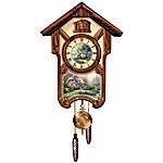 Thomas Kinkade Timeless Memories Wall Cuckoo Clock
