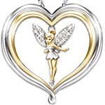Tinker Bell Believe Pendant Necklace - Disney Jewelry