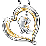 Some Days Look Better Upside Down Eeyore Pendant Necklace - Disney Winnie The Pooh Jewelry