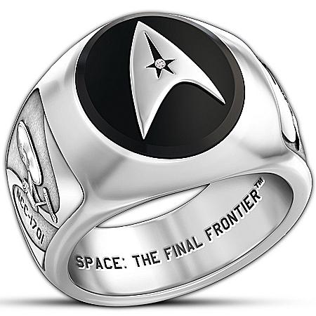 STAR TREK Collector's Ring