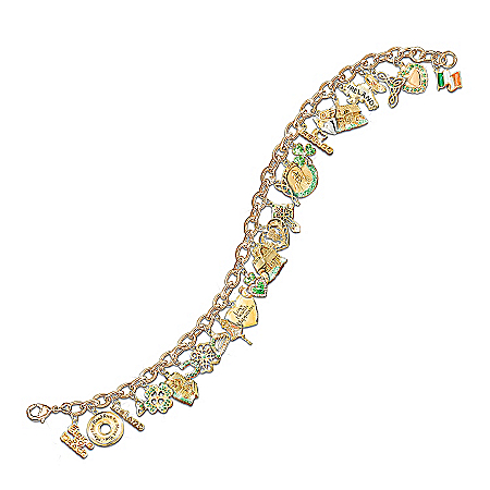 Ultimate Irish Charm Bracelet: Irish Pride Gift