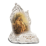 Always With You Praying Hands Religious Art Figurine