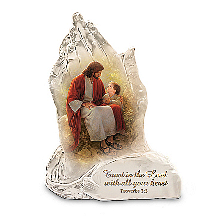 Trust In The Lord Sculpture