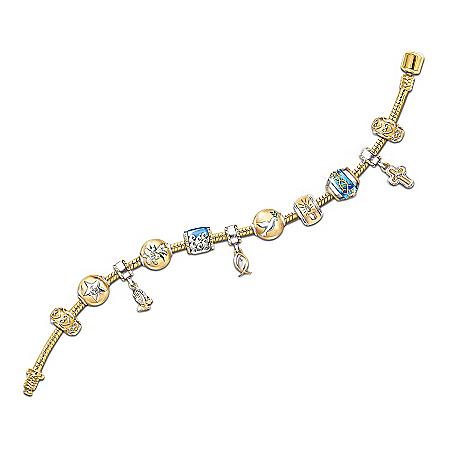 Life Of Jesus Beaded Bracelet: Christian Jewelry