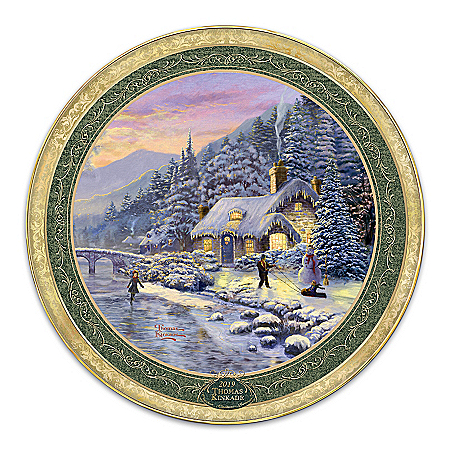 Thomas Kinkade 2019 Annual Collector Plate