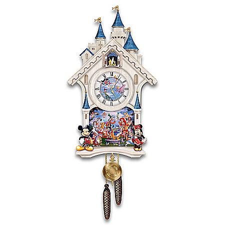 Disney Character Cuckoo Clock: Happiest Of Times