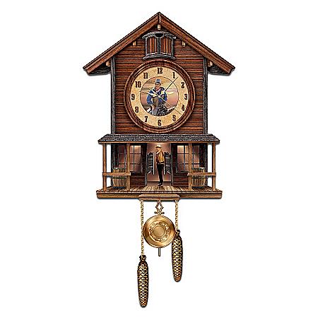 John Wayne: American Icon Collectible Cuckoo Clock