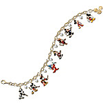Disney Mickey Mouse Through The Years Charm Bracelet