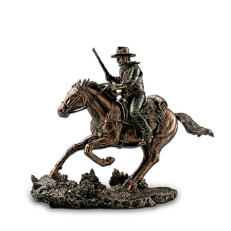 John Wayne Collectible: Galloping Thunder Sculpture