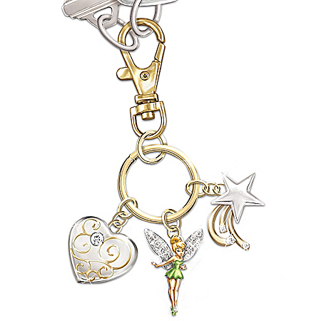 Disney Tinkerbell Tinker Bell Believe Collectible Key Chain