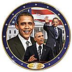 American Milestone Commemorative Porcelain Collector Plate