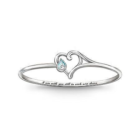 Diamond And Created Opal Bracelet: I Am With You