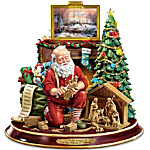 Thomas Kinkade The True Meaning Of Christmas Tabletop Centerpiece