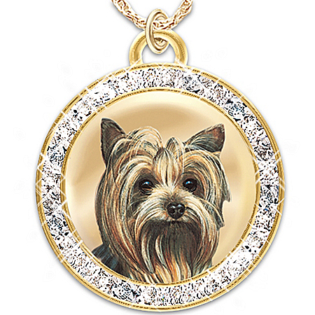 A Friend Fur-Ever Dog Lover's Pendant Necklace