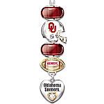 University of Oklahoma Sooners #1 Fan Charm Necklace - Go Sooners!
