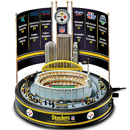 NFL Pittsburgh Steelers Super Bowl Champions Musical Carousel 109821001