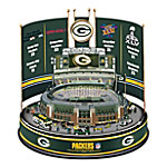 Green Bay Packers NFL Super Bowl Champions Lambeau Field Illuminated Carousel