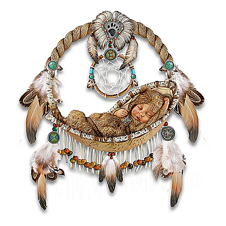 Native American Collectibles Li'l Bear Native American-Inspired Wall Decor