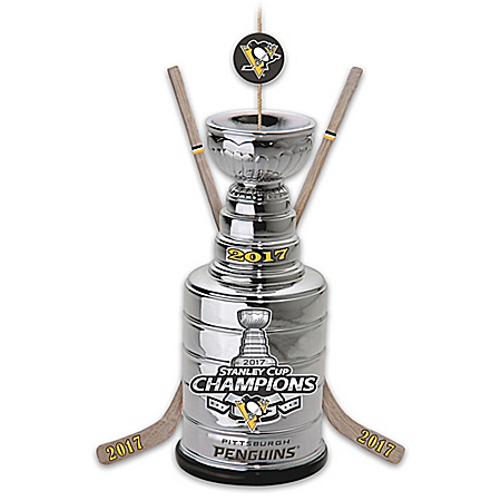 Pittsburgh Penguins 2017 NHL Stanley Cup Commemorative Ornament