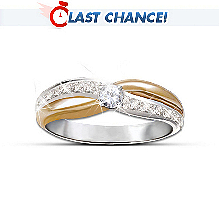 Embrace Solitaire Diamond Ring