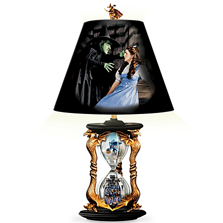 The Wizard Of Oz Hourglass Of Destiny Lamp, Limited To Just 5,000