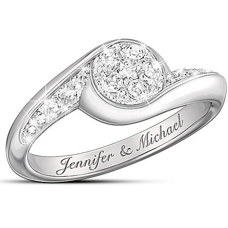 Celebration Of Love Personalized Diamond Ring