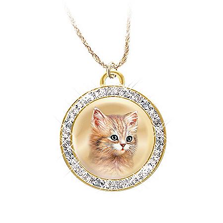 Jurgen Scholz A Cat Is A Friend Fur-Ever Pendant Necklace