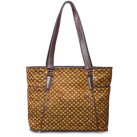Alfred Durante Madrid Signature Tote Bag: A Designer To Hollywood Legends