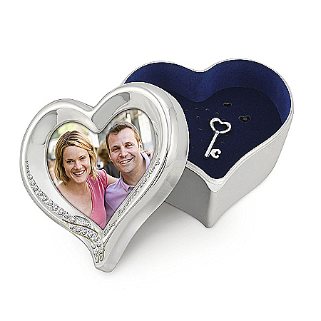 Today, Tomorrow, And Always: Recordable Keepsake Box And Photo Frame In One