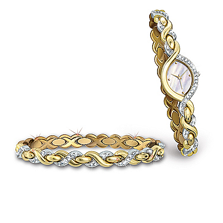 Timeless Love Watch And Bracelet Set