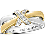 Eternity's Kiss Diamond Personalized Women's Ring