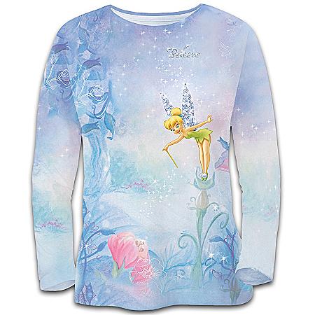 Disney Tinkerbell Disney Tinker Bell's Magical Moments Women's Shirt