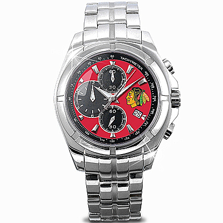 NHL® Chicago Blackhawks® 2010 Stanley Cup® Champions Watch 111614001