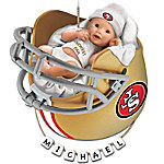 San Francisco 49ers Personalized Baby's First Christmas Ornament
