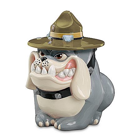 Basic Craving - USMC Devil Dog Cookie Jar