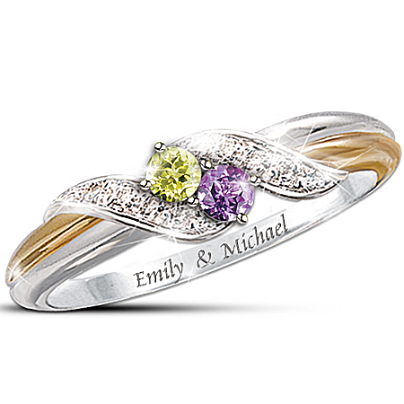 Personalized Birthstone Ring: Embrace