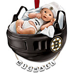 NHL® Boston Bruins® Personalized Baby's First Ornament