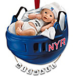NHL® New York Rangers® Personalized Baby's First Ornament