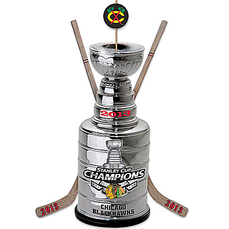 2011 Stanley Cup Officially-Licensed Chicago Blackhawks® 2013 NHL® Stanley Cup® Champs Ornament