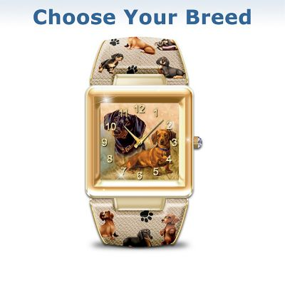 I Love My Schnauzer Women's Cuff Watch