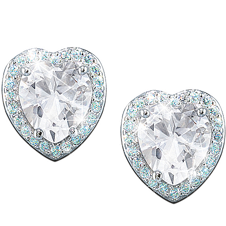 Daughter, Always In My Heart Diamonesk Earrings