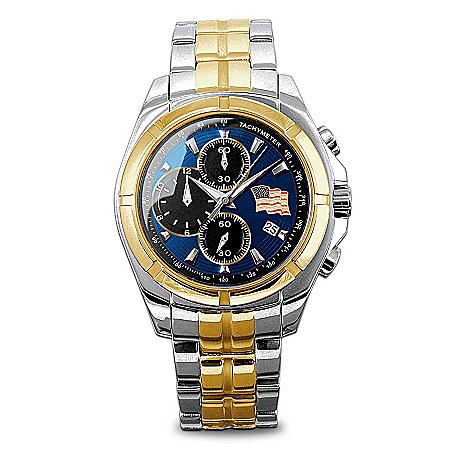 "The ""Spirit Of America"" Men's Chronograph Watch"