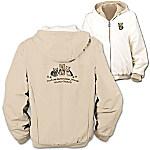 Loyal Companion Yorkie Women's Fleece & Microfiber Reversible Jacket