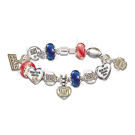 Go Giants! #1 Fan Charm Bracelet 112790001